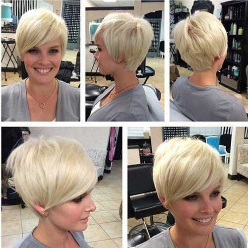 Short Haircuts with Bangs-14