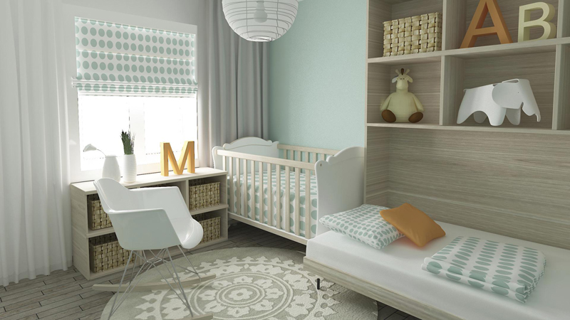 Nursery children's bedroom