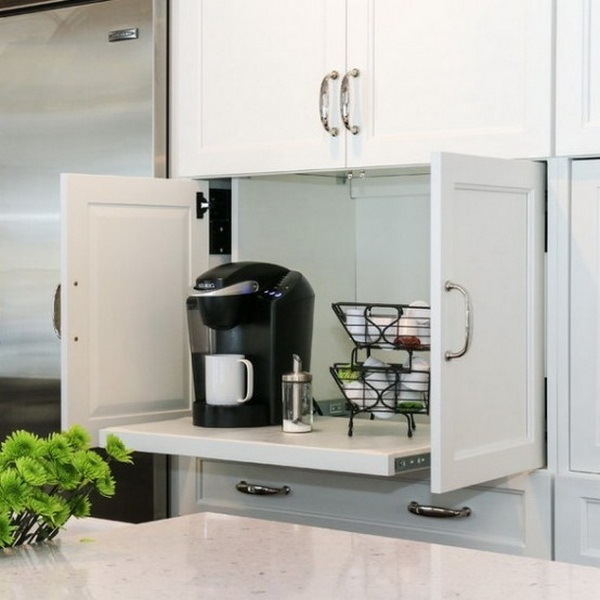 organize kitchen small appliances
