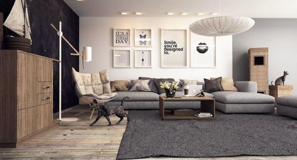 open concept living room arrangements