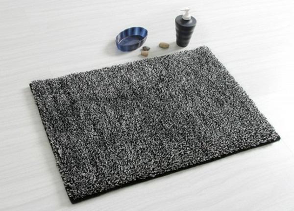 cotton bathmat gray design
