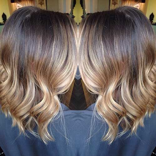 Long Bob Ombre Hair-13