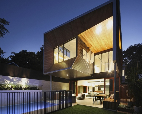 amazing modern architecture house luxury with pool