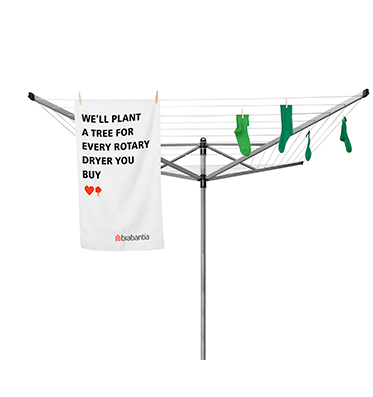 Brabantia Rotary Dryer Love Nature Campaign