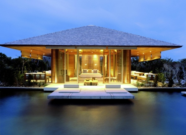 design idea luxury cottage with pool