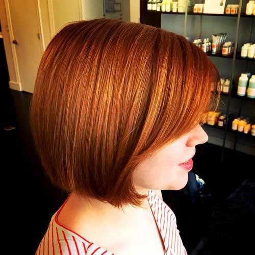 Short Haircuts with Bangs-24
