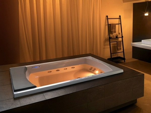 Bath lighting integrated Teuco