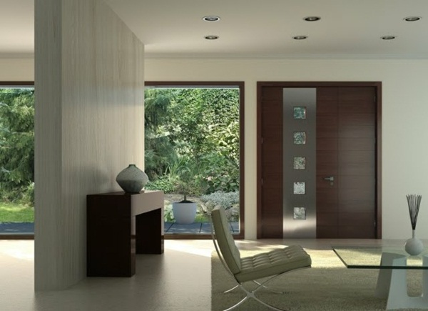 modern house doors white nice room