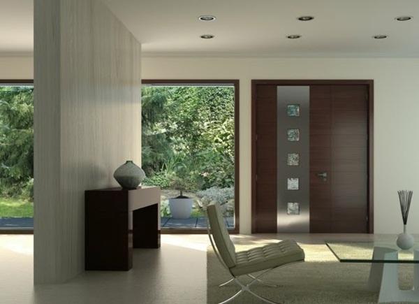modern house doors white nice room