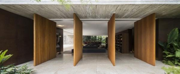 modern house doors elegant look