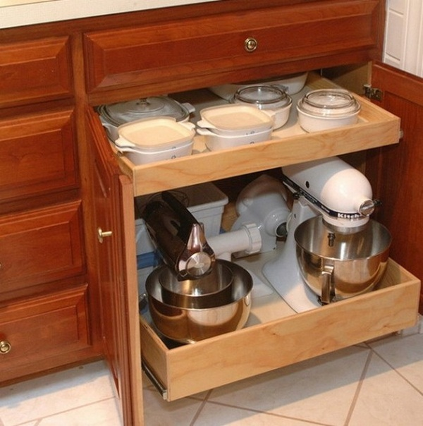 How to organize the small appliances in the kitchen (4)