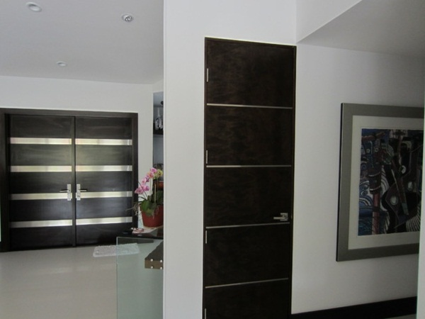 modern house doors brown design with a stylish look