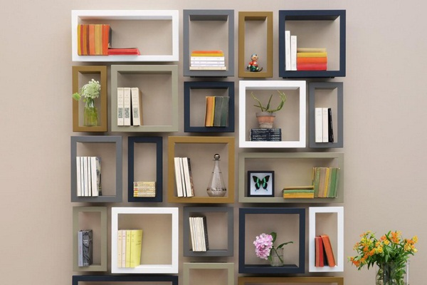 Citron presse largstick bookshelf
