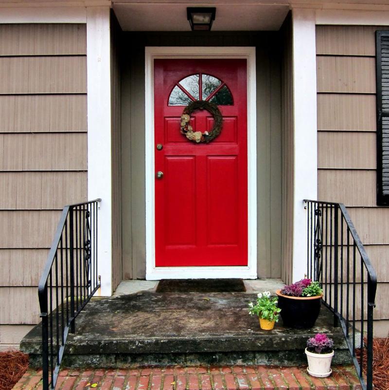 цвета для входной двери