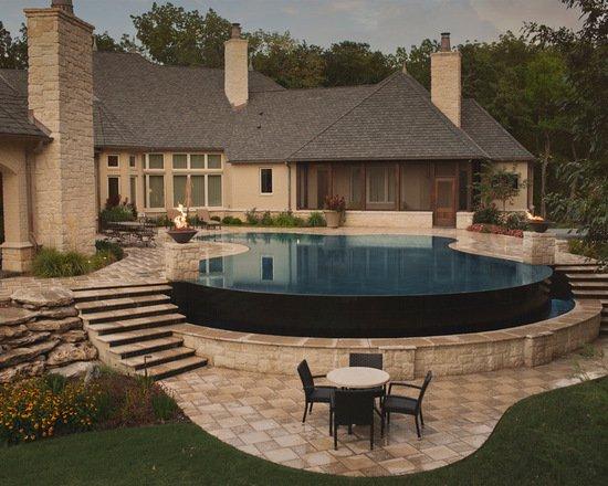 Nice 21 Landscape Small Backyard Infinity Pool Design Ideas