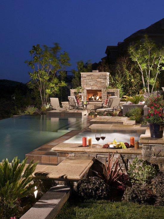 21 Landscape Small Backyard Infinity Pool Design Ideas