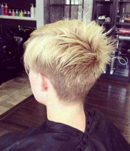 Short Spiky Pixie Haircuts