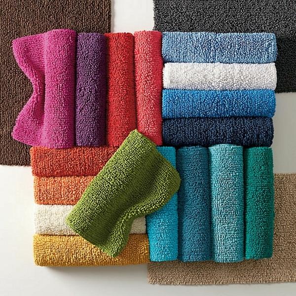 cotton bathmat colorful beautiful color schemes