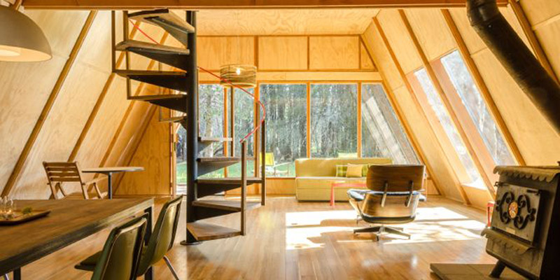 30 Amazing Tiny A frame Houses DesignRulz.com