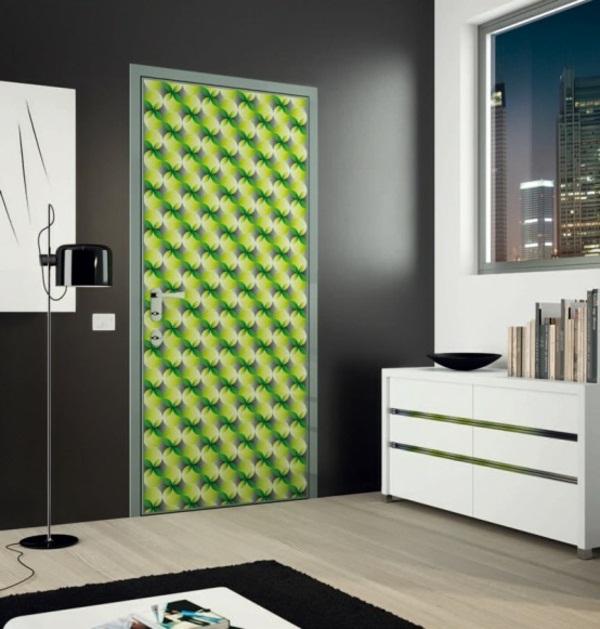 modern front doors green color very creative look