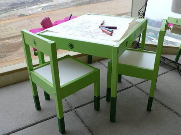 Infants table children's furniture