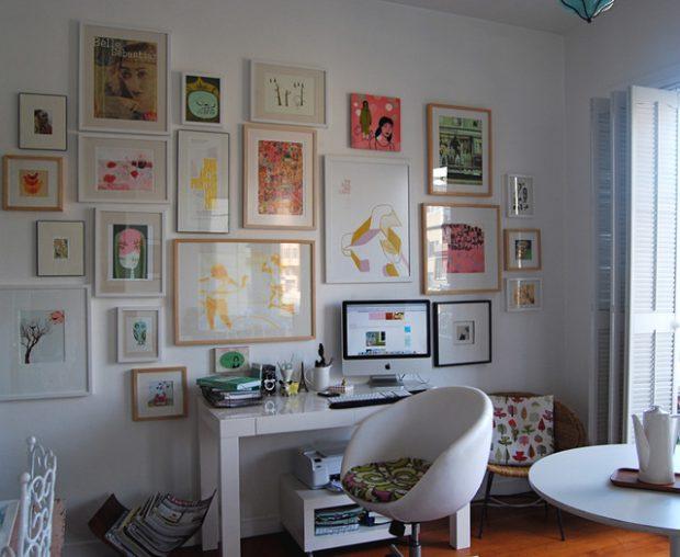 18 Great Ways to Transform Ordinary Walls Into Art Gallery Walls