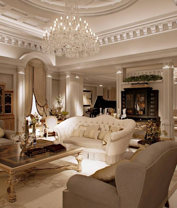 stunning sculptural ceiling molding