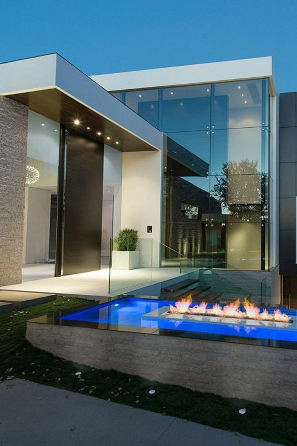 amazing architecture house luxury with pool