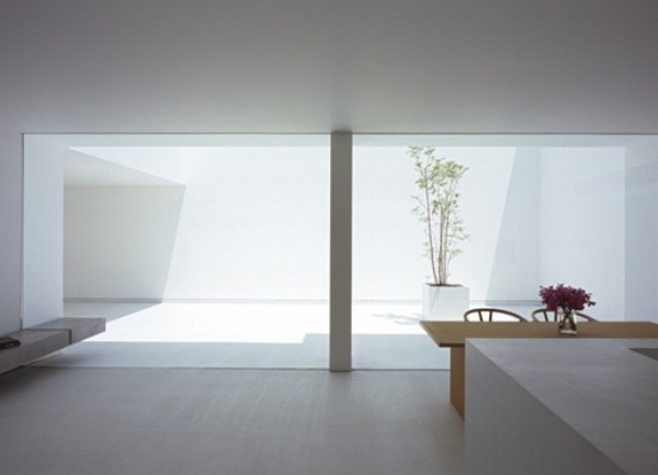 dining room wall glazing modern furniture pieces accents minimalist