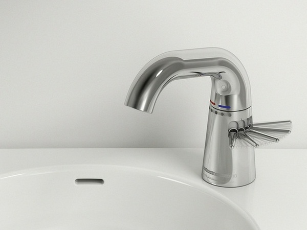 Fittings ideas stainless steel sink faucet practically white