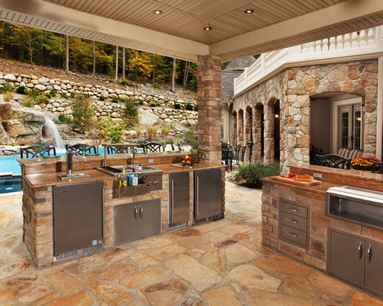17 Spectacular Covered Outdoor Kitchen Design Ideas Decor10 Blog