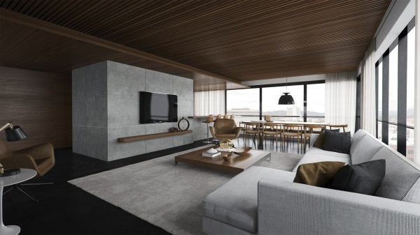 open concept living room and kitchen pictures