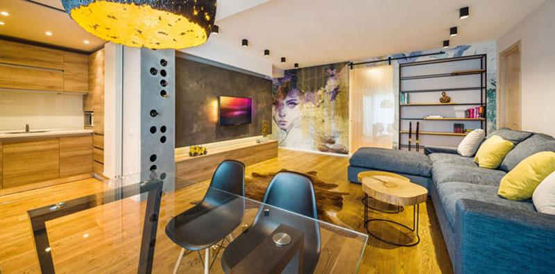 Artsy Industrial Style by Studio3plus In Bucharest, Romania DesignRulz.com