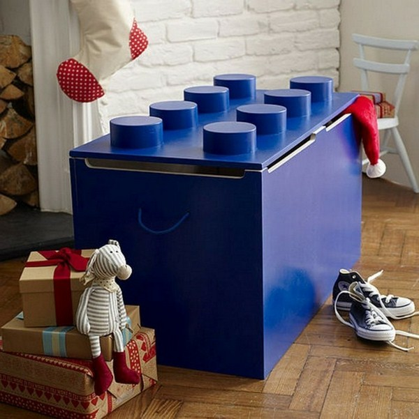 Storage boxes for toys like a box of treasure