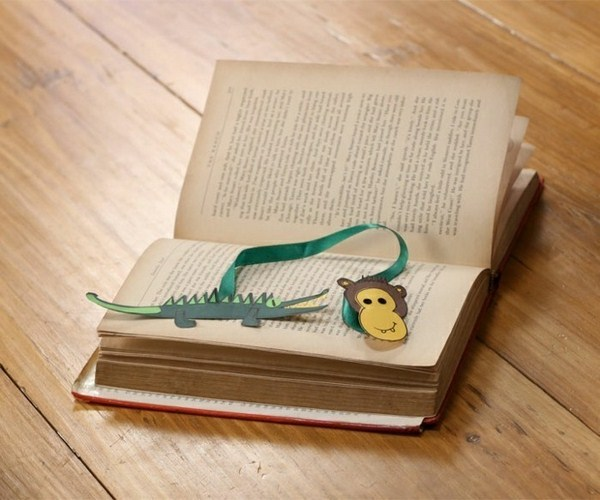 tinker bookmark templates paper animals
