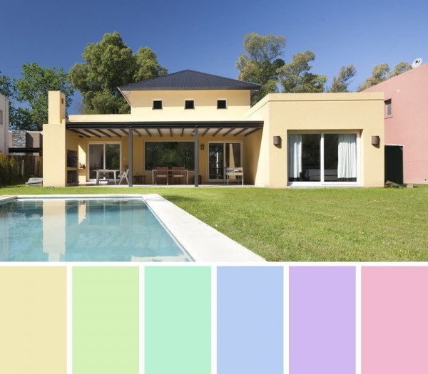 Facades and exterior paint colors (3)