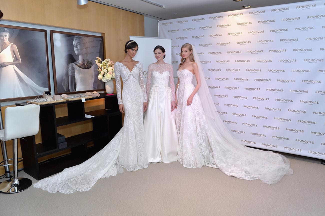 Pronovias Lace Wedding Dresses