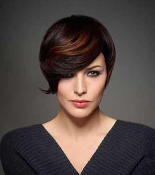 Hair Colors for Short Hair-9