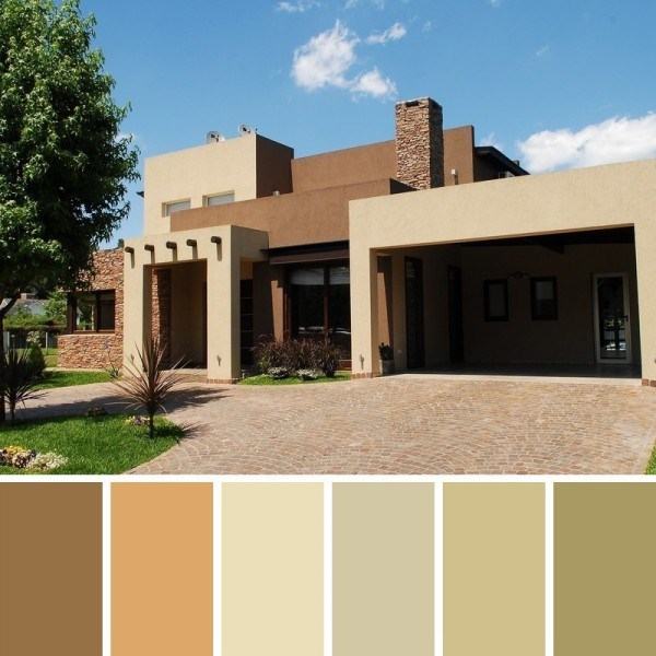 Facades and exterior paint colors (1)