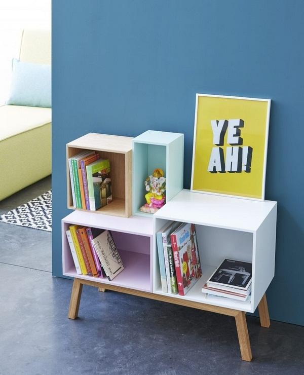 New pastel colours for the cubit shelf decor10 blog - Meuble hifi diy ...