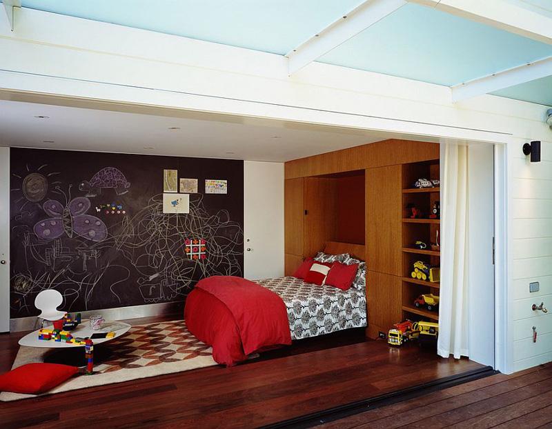 Creative Bedrooms with Chalkboards-DESIGNRULZ (17)