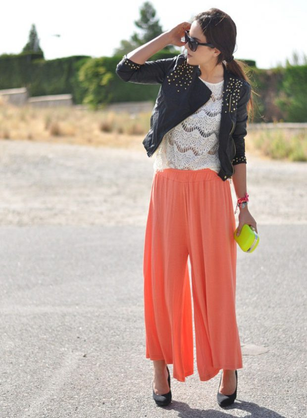 15 Cute and Comfy Summer Outfit Ideas with Harem and Palazzo Pants (Part 1)