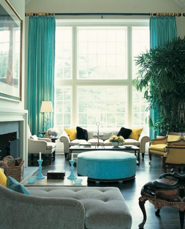 15 Colorful Living Rooms by Jamie Drake for Summer Homes Colorful Living Rooms by Jamie Drake 15 Colorful Living Rooms by Jamie Drake for Summer Homes Room Decor Ideas 15 Colorful Living Rooms by Jamie Drake for Summer Homes Luxury Homes Luxury Living Room Summer Trends 7 e1464355124500