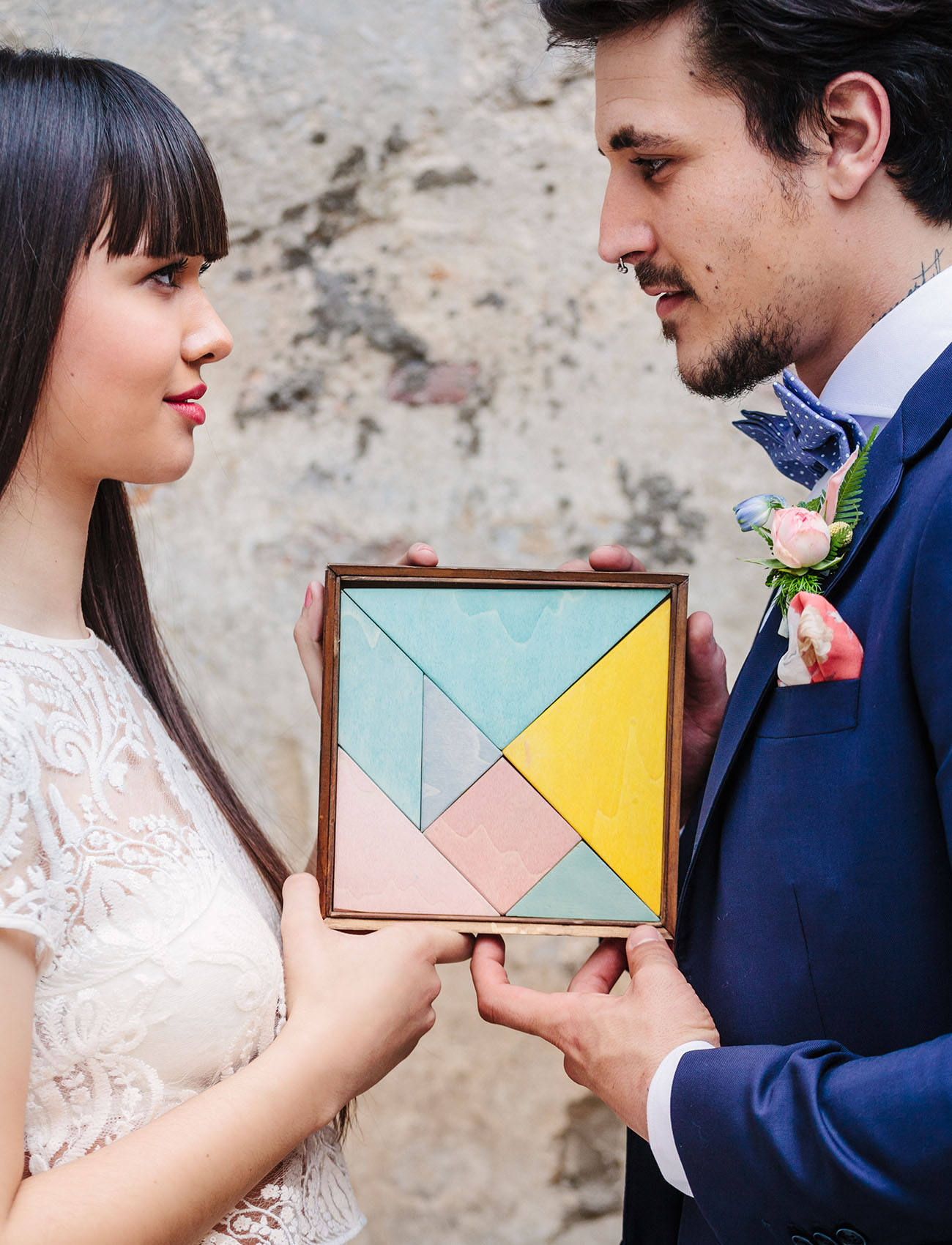 Love is a Tangram