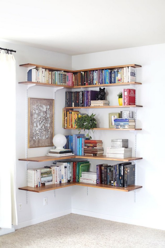 DIY Ideas: The Best DIY Shelves DIY Ideas: The Best DIY Shelves DIY Ideas: The Best DIY Shelves Room Decor Ideas Room Ideas Room Design DIY Ideas DIY Home Decor DIY Home Projects DIY Projects DIY Shelves 6