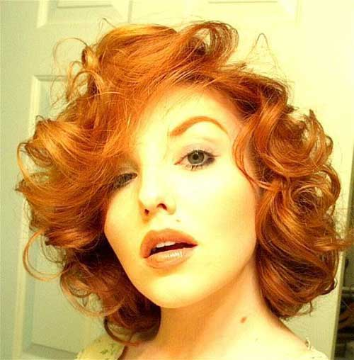 Hair Colors for Short Hair-19