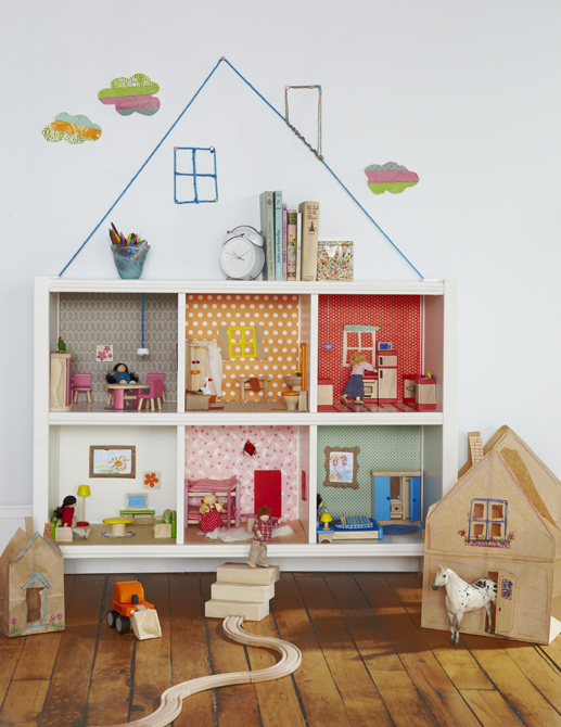 DIY Kallax dollhouse