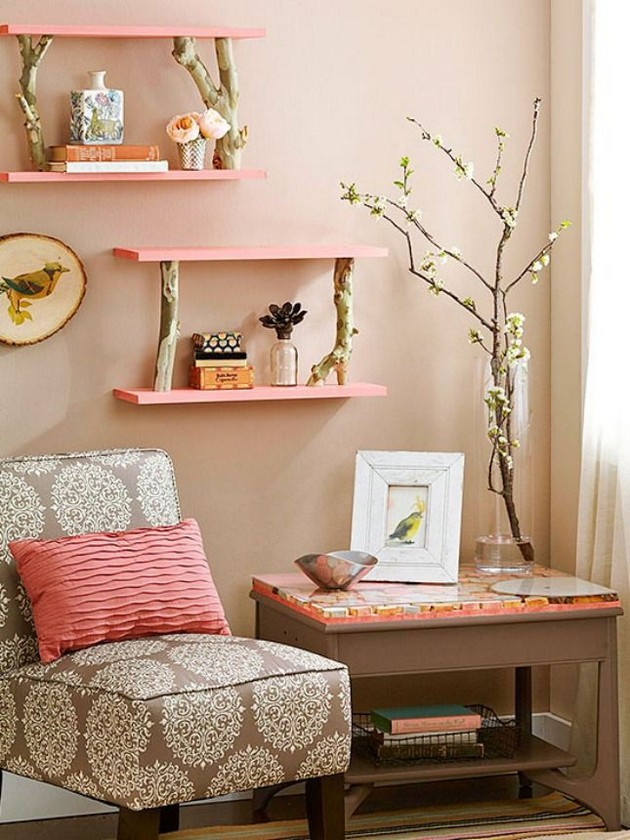 at home decorating projects diy ideas the best diy shelves decor10 10394