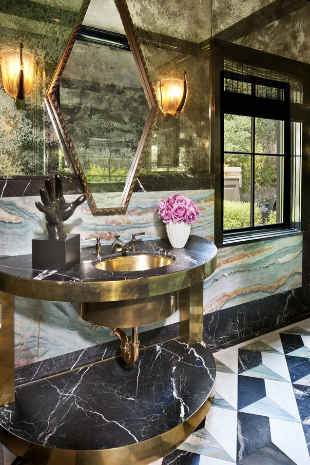 How to Style your Bathroom like Kelly Wearstler Style your Bathroom like Kelly Wearstler How to Style your Bathroom like Kelly Wearstler Room Decor Ideas How to Style your Bathroom like Kelly Wearstler Kelly Wearstler Interiors Luxury Interior Design 11