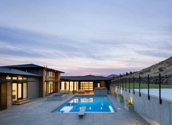 panorama house inspirations pool and beautiful nature